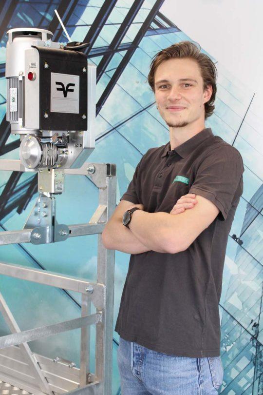 Clovis RONCERAY - Projektleiter – Azubi