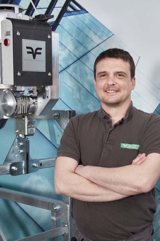 Michaël KNIPILLAIRE - Leiter Kundendienst